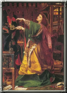 Morgan le Fay 1864 by Anthony Frederick Sandys