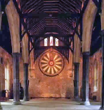 The Round Table Great Hall, Winchester England July 2000