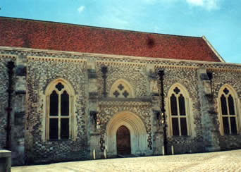 The Great Hall, Winchester England July 2000